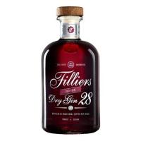 Спиртной напиток Филльерс Драй Джин 28 Терновый (Fillers Dry Gin 28 Sloe), 26 %