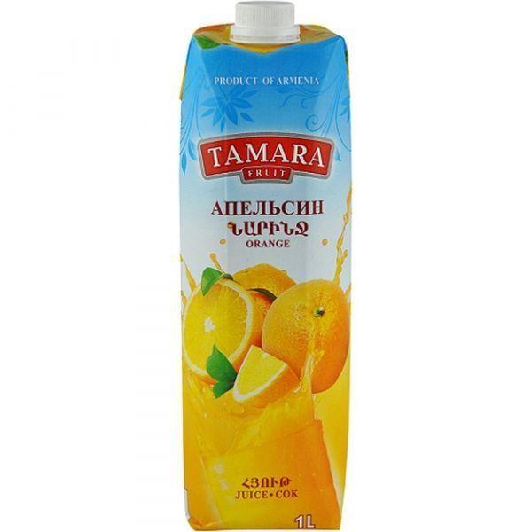 Сок Tamara Fruit апельсиновый т/пак