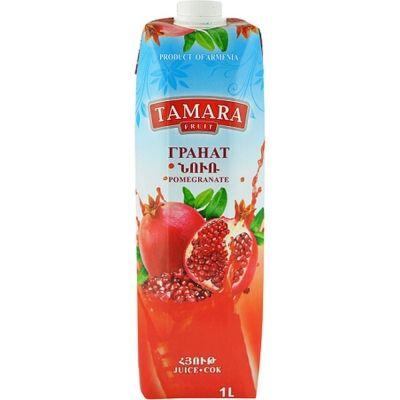 Сок Tamara Fruit гранатовый т/пак