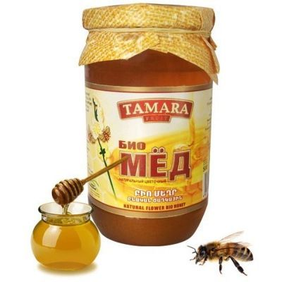 Мед натуральный Tamara Fruit цветочный (Био)