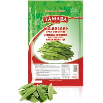 Зеленая фасоль Tamara Fruit быстрозамороженная п/э