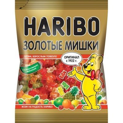 Мармелад Харибо Голдберен Золотые мишки
