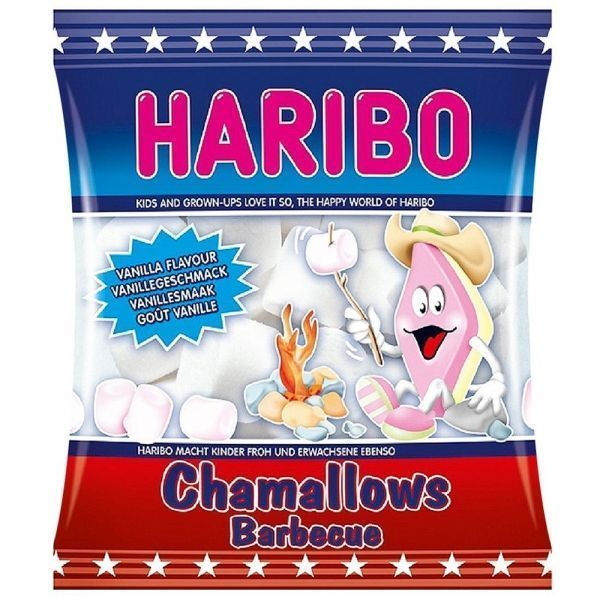 Зефирные конфеты Харибо Шпек Chamallows Barbecue