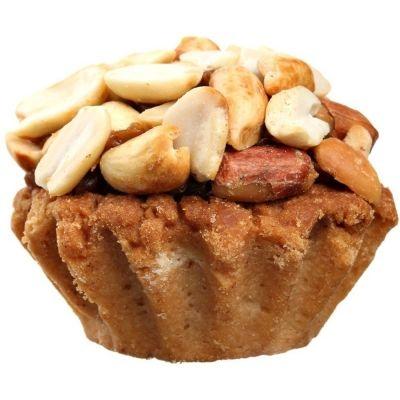 Пирожные Ден-Трал Реутовские корзиночки с варёной сгущёнкой и орехом
