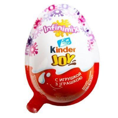 Яйцо Kinder Джой Инфинимикс Д