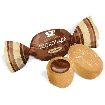 Карамель Конти Со вкусом шоколада