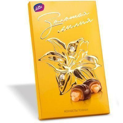 Набор конфет Конти Золотая лилия golden collection