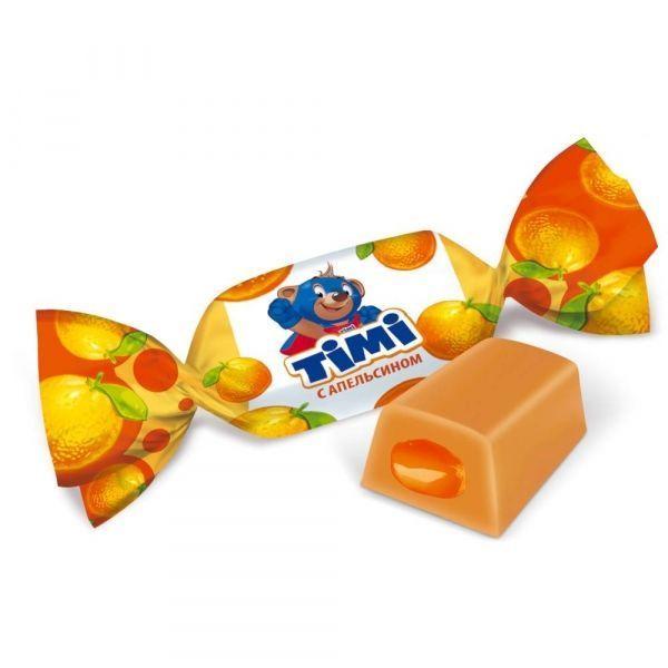 Конфеты Timi Toffee с апельсином