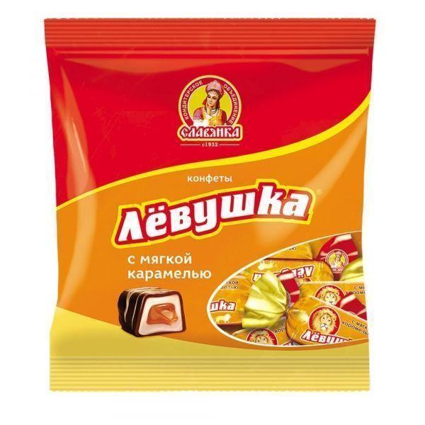 Конфеты Славянка Левушка с мягкой карамелью