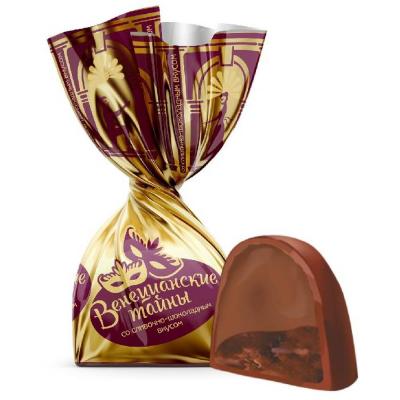 Конфеты Невский кондитер Венецианские тайны со сливочно-шоколадным вкусом