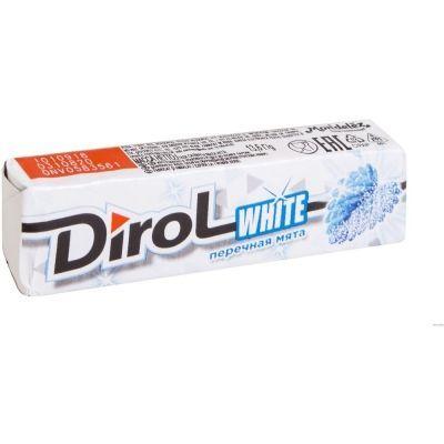 Жевательная резинка Дирол White Перечная мята