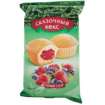 Мини-маффины Сказочный ягодный сбор