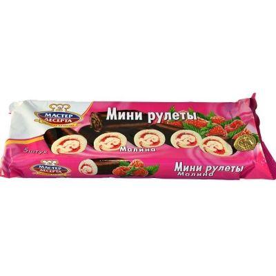 Мини-рулеты Мастер Десерта Малина