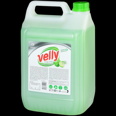 Средство для мытья посуды GraSS Velly Premium Лайм и мята
