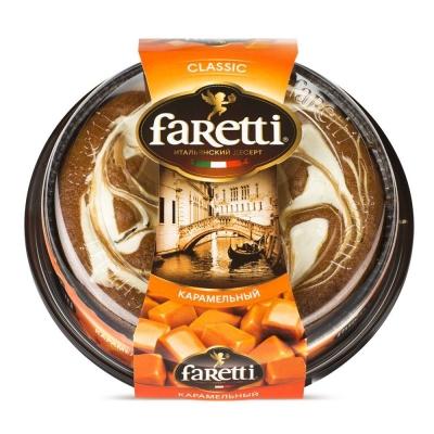 Торт бисквитный 'Faretti' карамельный