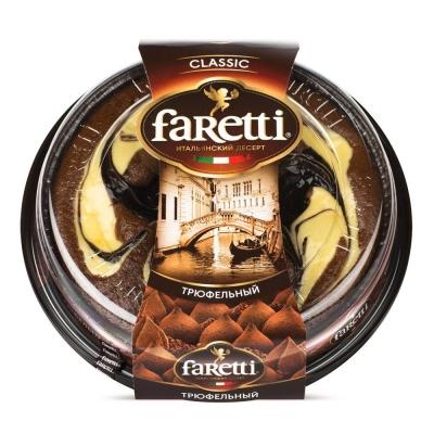 Торт бисквитный 'Faretti' трюфельный