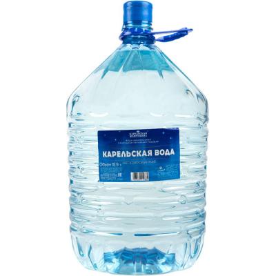 Вода Карельская жемчужина 'Карельская вода' минеральная природная питьевая столовая негазированная
