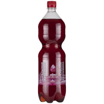 Морс Карельская жемчужина Брусничный, напиток газированный
