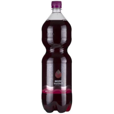 Морс Карельская жемчужина Вишневый, напиток газированный