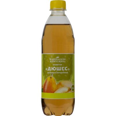 Напиток сильногазированный Карельская жемчужина Дюшес