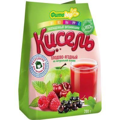 Кисель 'Фитодар' плодово-ягодный
