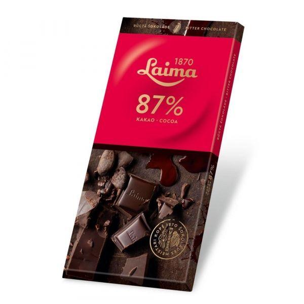 Шоколад Лайма горький 87%