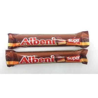 Батончик Albeni super с карамелью покрытый молочным шоколадом