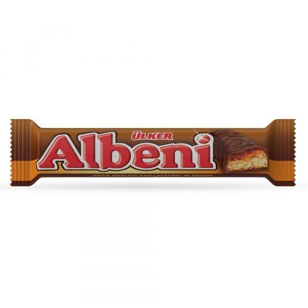 Батончик Albeni с карамелью покрытый молочным шоколадом