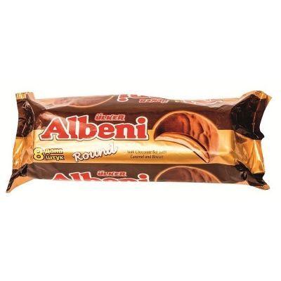 Печенье Albeni Раунд с карамелью покрытое молочным шоколадом