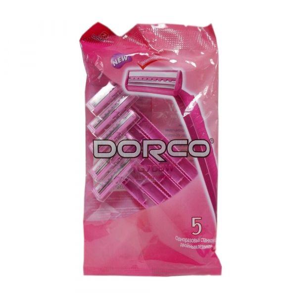 Одноразовый бритвенный станок Dorco TG708(W) (2 лезвия)