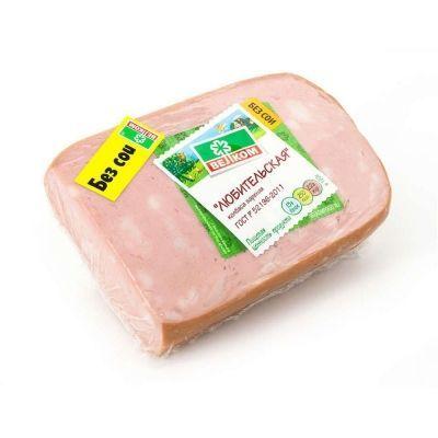 Колбаса Велком Любительская в/у кусок из охлажденного мяса