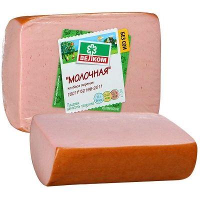Колбаса Велком Молочная  р/в в/у из охлажденного мяса