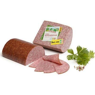 Салями Велком Королевская полукопченая из охлажденного мяса