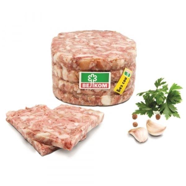 Мясо свиных голов Велком пресс. в/у