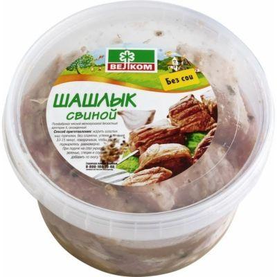 Шашлык Велком свиной ведро из охлажденного мяса