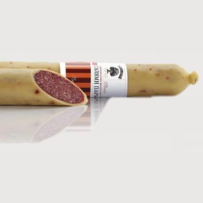Салями Малаховский мясокомбинат Парма в сыре со спецями сырокопченая