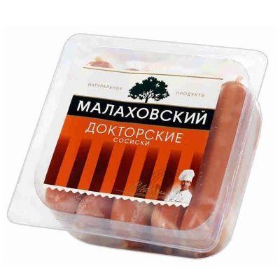 Сосиски Малаховский мясокомбинат Докторские в целл/об
