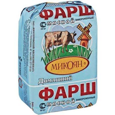 Фарш Микоян Домашний замороженный