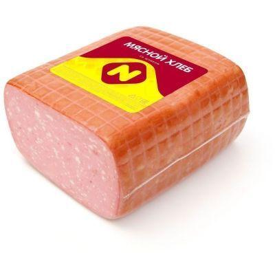Мясной Хлеб Останкино со Шпиком крупный кусок