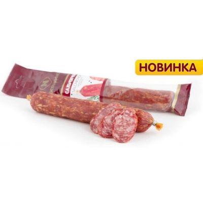 Колбаса Останкино Сальчичон сырокопченая Б/О