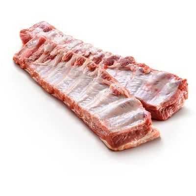 Ребрышки Люкс Раменский деликатес свиные охлажденные лоток