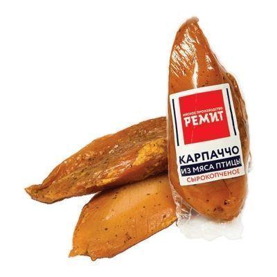 Карпаччо Ремит из мяса птицы сырокопченое гмс