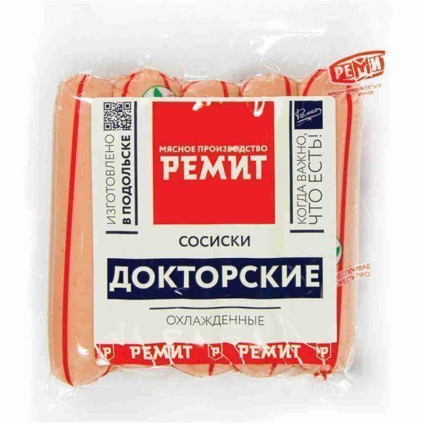 Сосиски Ремит Докторские ПГН в/у