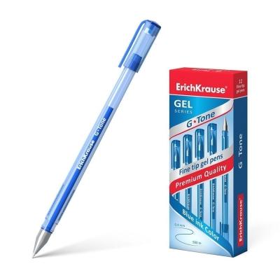 Ручка гелевая ErichKrause G-Tone цвет чернил синий