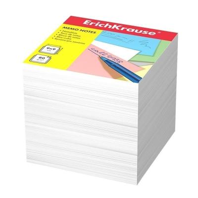 Бумага для заметок ErichKrause 90x90x90 мм белый