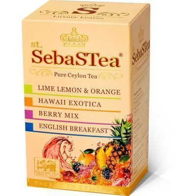 Чай SebaSTea Assortment № 3 20 пак.