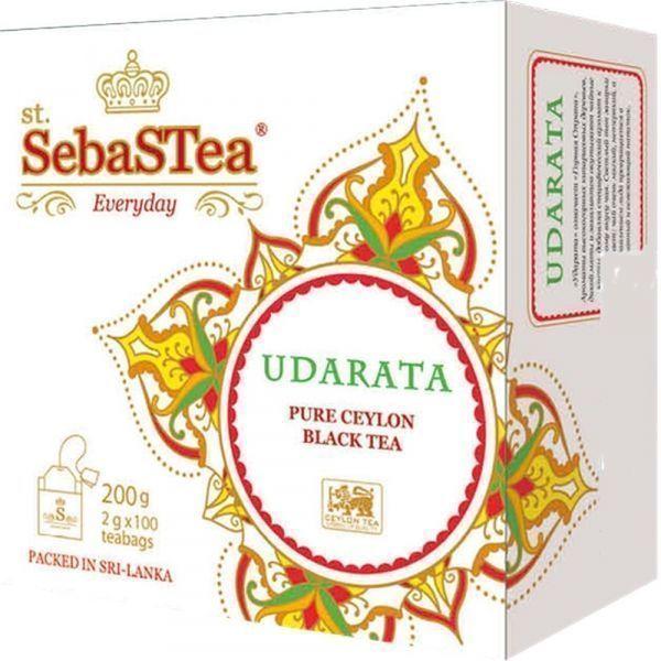 Чай черный SebaSTea Udarata 100 пак.