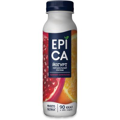 Йогурт питьевой Epica гранат и апельсин 2,5%