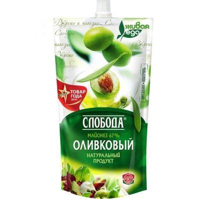 Майонез 'Слобода' Оливковый 67,5%