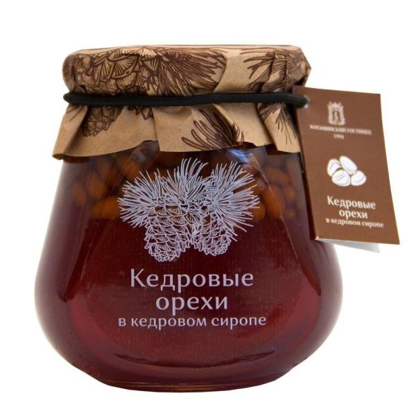 Кедровые орехи Косьминский гостинец в кедровом сиропе